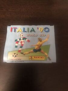 Panini World Cup 1990 Italia 90 sealed Unopened Sticker Packet