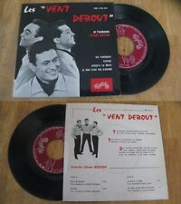 LES VENT DEBOUT - Karina Rare French EP Sixties NM