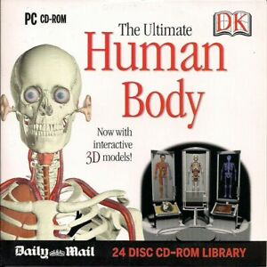 THE ULTIMATE HUMAN BODY - PROMO PC CD-ROM (2007) WITH INTERACTIVE 3D MODELS