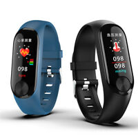 Bluetooth Smartwatch Heart Rate Blood Pressure Monitoring GPS Fitness Tracker