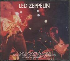 "LED ZEPPELIN - RARO  2 CD ITALY ONLY 1991 "" FROM LONDON TO DALLAS """