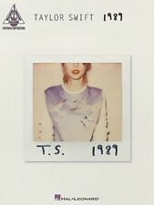 Taylor Swift - 1989 Guitar TAB Book *NEW* Sheet Music Lyrics