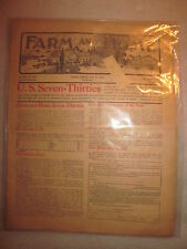 July 15, 1908  issue Farm and Home magazine US Seven Thirties