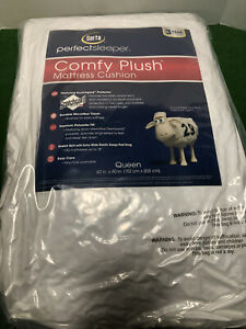 Serta Comfy Plush Mattress Pad Queen