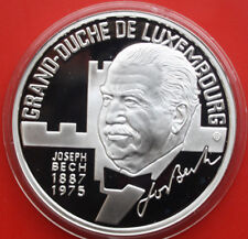 """Luxembourg-Luxembourg: 25 ECU 1993 Proof-PP argent, """"Joseph Bech"""", F # 1798"""