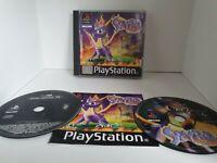 Sony Playstation 1 Spyro The Dragon, Inc Winter Release Demo & Manual
