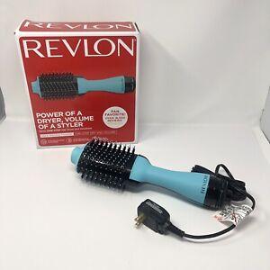 Revlon One Step Hair Dryer Volumizer Brush Professional Home Styling, Mint