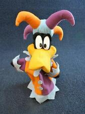 """Daffy Duck 10"""" Jester Puppet 1997 Plush Toy Looney Tunes Six Flags (pt206)"""