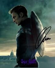 Chris Evans Captain America Winter Soldier SIGNED AUTOGRAPHED 10X8 REPRO PHOTO