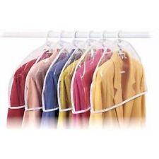 Clear Vinyl Shoulder Covers Set Of 6 Closet Suit Protects Storage Anti Dust