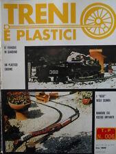 Treni e Plastici n°6 1979 Costruiamo una Loco E 623 e un plastico enorme