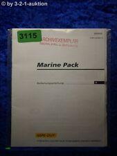 Sony Bedienungsanleitung MPK DVF Marine Pack (#3115)