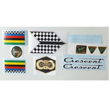 Crescent mid 70s to early 80s decal set Swedish