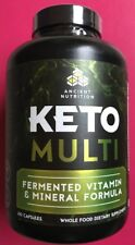 Ancient Nutrition Keto Multi 180 Caps Exp Mar 2020 Whole Food Vitamin