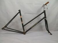 Raleigh Vintage Touring Road Bike Frame Small 53cm British Made Steel US Charity