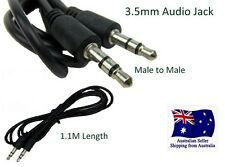 3.5mm Jack Male to Male Plug Stereo 1.1M Audio Cable Cord For Car MP3 iPod