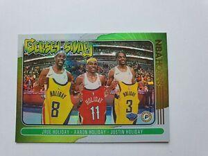 2020-21 NBA Hoops Jersey Swap Holo Jrue Holiday,Holiday Brothers NBA Finals