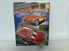 1988 Lanard American Muscle Classic Convertibles Corvette Red Rubber Tires