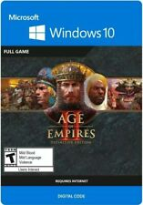 Age of Empires II 2 Definitive Edition PC Windows 10 Key Global