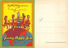 4258) VINO MARSALA, JAMES HOPPS E SON, MAZARA, TRAPANI.