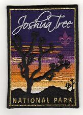 "Joshua Tree National Park (BSA Nat. Parks Series) Patch, ""BSA 2010"" Back, Mint!"