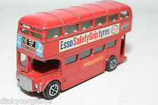 DINKY TOYS 289 ROUTEMASTER BUS ESSO SAFETY GRIP TYRES GOOD CONDITION
