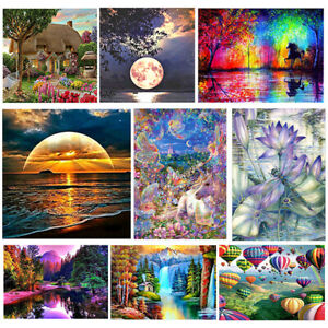 Diamond 5D Painting Embroidery Cross Craft Stitch Pictures Arts Kit Mural Decor
