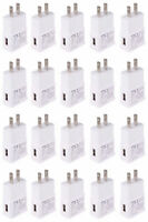 20x 2A Wall Charger Power Adapter AC Home US Plug For iPhone 5 7 Samsung LG HTC