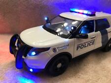 1/18 SCALE DIECAST FEDERAL PROTECTIVE PD FORD SUV   W/WORKING LIGHTS AND SIREN