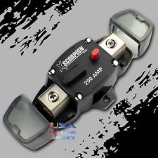 Marine Stereo Wet Wire Sounds 200Amp Circuit Breaker Fuse Audio system Electric