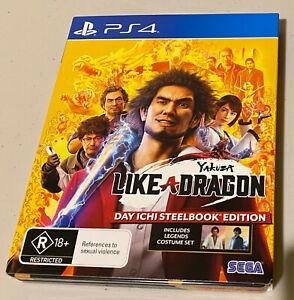 Yakuza: Like A Dragon PlayStation 4 (Day Ichi Steelbook Edition)