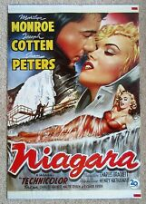 NIAGARA ORIGINAL 1990 DUTCH COMMERCIAL MOVIE POSTER RLD MARILYN MONROE EX