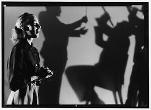 Photo:Woman with three silhouette shadow Stanley Kubrick 4638