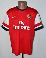 ARSENAL LONDON 2012/2013/2014 HOME FOOTBALL SHIRT JERSEY NIKE SIZE XL ADULT