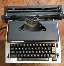 Vintage Olympia X-L12 Electric Typewriter with Carrying Case - Works Well