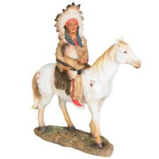 Indianer Figur Reiter auf Pferd Western Winnetou Apachen Sammlerfigur I67