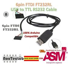 6pin FTDI FT232RL USB to Numero di serie Adapter Modulo USB to TTL RS232 Cavo