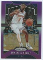 2019-20 Basketball Panini Prizm Purple /75 Emmanuel Mudiay #176 Utah Jazz