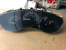2002 CHEVROLET MALIBU speedometer instrument cluster