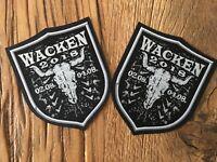 Wacken 2 Original Stoff-Aufnäher vom Wacken 2018 / 02.-04.08.2018