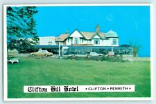 POSTCARD PENRITH CLIFTON HILL HOTEL COLOUR RPPC
