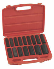 Genius 16 Piece 1/2in Drive Deep Impact Socket Set 10 - 30mm TD-416M