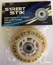 4 Wheels for Skateboard Ripstick 2 wheeled boards Brand New x4 Bulk & bearings