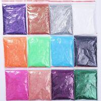20g Fine Glitter Dust Powder Holographic Iridescent Metallic Body Nail Art Craft