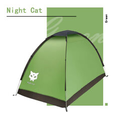 New listing Single Man Tent Backpacking Hiking Camping Sun Shelter Waterproof Heat Green