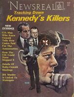 Rare 1977 NewsReal News Magazine #3 JFK Assassination Tracking Kennedy Killer VG