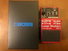 BOSS RC-3 Loop Station guitar pedal Used in Perfect Condition