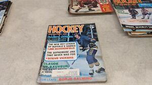 1974 Hockey World NHL WHA Magazine Gary Unger
