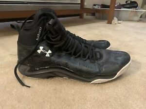 Under Armour, Black Basketball Shoes, Size 16 or 17