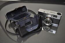 Olympus Quickmatic EEM rangefinder camera, with  case. Works!